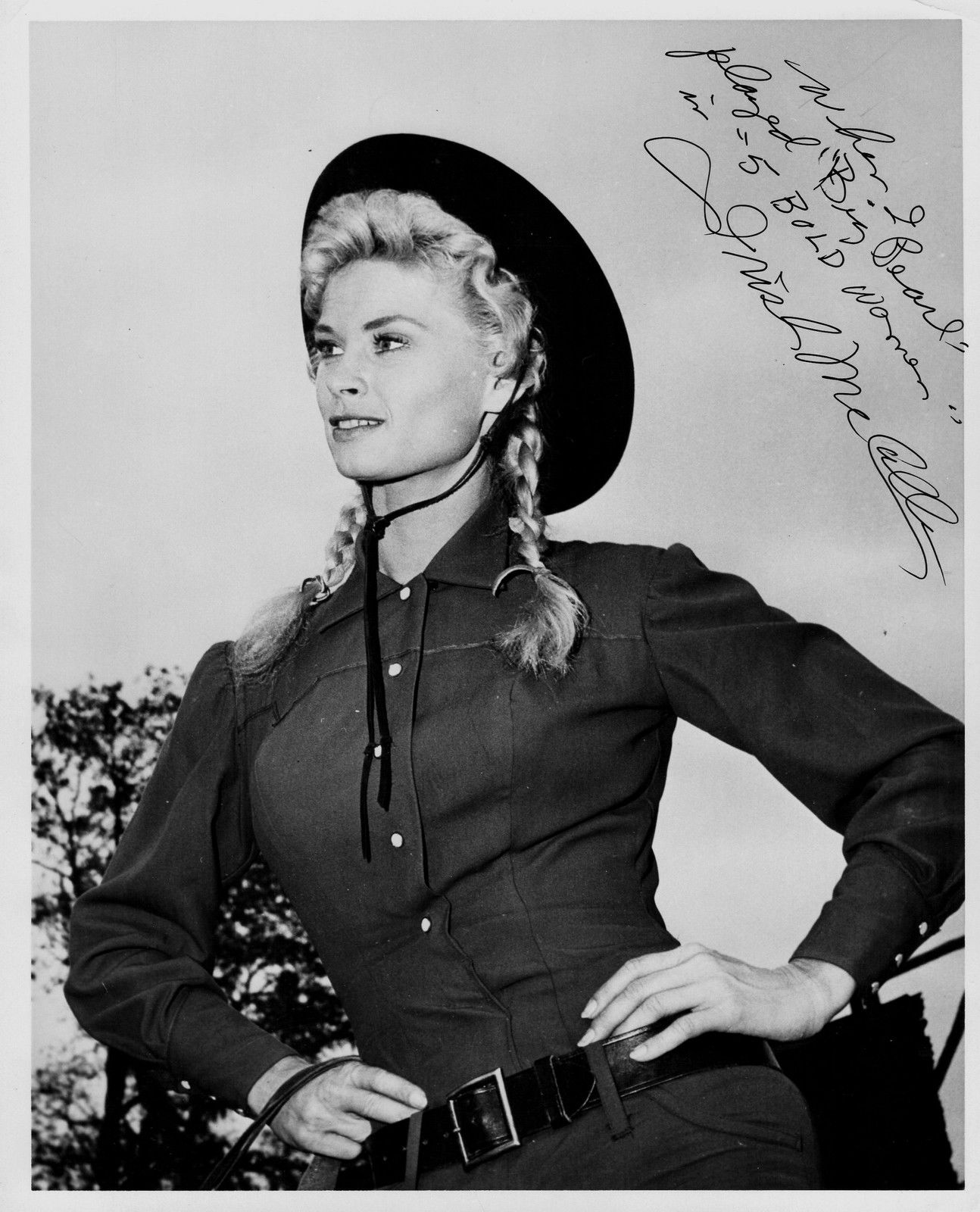 "7502679f9e192 ORIGINAL AUTOGRAPH Orig 1960 ""FIVE BOLD WOMEN"" Portrait Signed by ..."