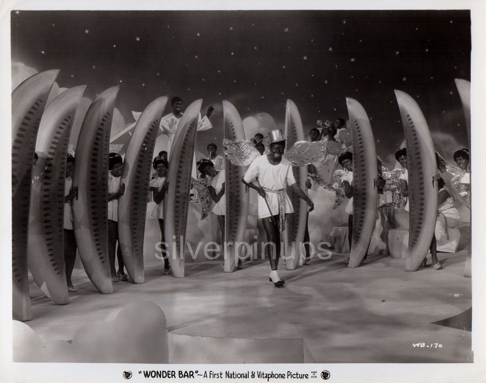 Orig-1934-HAL-LEROY-with-Dancers-in-Blac