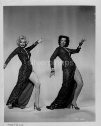 85560f381f432 Orig 1953 MARILYN MONROE – JANE RUSSELL Sexy Showgirls.. LEG ART Portrait