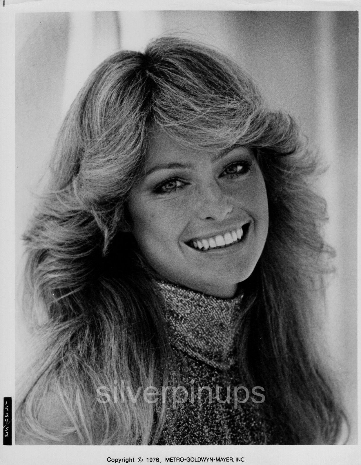 """Orig 1976 FARRAH FAWCETT Sci-Fi Beauty.. """"LOGAN\'S RUN"""" Portrait ..."""